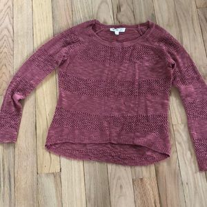 Pink Rose sweater size S